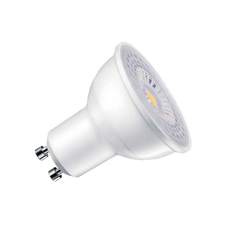 Bombilla dicroica LED GU10 COB, 45º, 8W, Regulable, Blanco neutro, Regulable